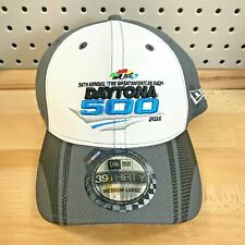 Daytona 500 NASCAR 58th Annual New Era Stretch Fit 39THIRTY Cap 2016 NWT Hat M/L