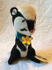 "Vintage Dakin Dream Pet Skunk ""Sniffer""JAPAN Toy Plush Tags"