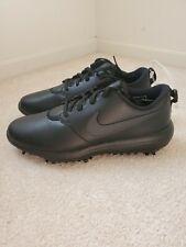Men's Nike Roshe G Tour Golf Shoes Triple Black AR5579-007 Mens Size 10 Wide
