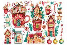 Andriana Cross Stitch Kit - Christmas Sweets