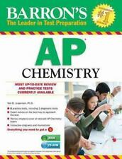Barron's AP Chemistry with CD-ROM, 7th Edition-ExLibrary