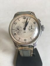 VERY RARE !!! watches LONGINES 13zn.  chronograph,monopusher size 37.5 mm.