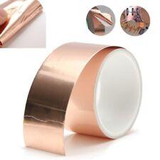 Cinta de cobre para apantallado 1mx50mm Auto adhesive Copper tape EMI shielding