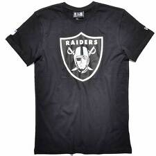 NEW ERA CAP NFL T-SHIRT OAKLAND RAIDERS AMERICAN FOOTBALL SCHWARZ TOP & NEU!