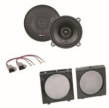MB Quart QX130 2 Wege Lautsprecher Boxen System Einbauset für Golf 2 Türen vorne