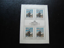 TCHECOSLOVAQUIE - timbre yvert et tellier n° 1578 x4 n** (Z2) stamp