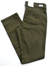 MAC Jeans ANGELA oliv grün khaki Stretch Slim Fit straight Gr.46 L 30 NEU