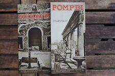 28504 Reise Prospekt POMPEI um 1935