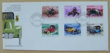 1972 New Zealand First Day Cover Vintage Car Rally