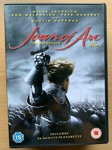 Joan Of Arc - The Messenger DVD 1999 French Historical Drama Movie Classic