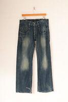 Vintage G-Star 3301 Straight Leg Jeans Dark Blue (W31 L32)