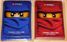 Lego® Ninjago™ Serie 2 | 60 Motiv Hüllen Sleeves rot & blau Set für Sammelkarten