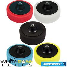 Silverline Polishing Sponge Foam Head Coloured Buffing Car Bodyshop 150mm