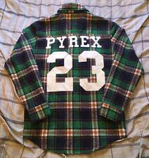 Ralph Lauren Rugby Pyrex Vision Virgin Abloh Flannel Shirt Men's Size Medium