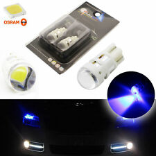 Ultra Blue Projector Lens Car Parking Lights Kit Universal T10 W5W 3535-SMD LED