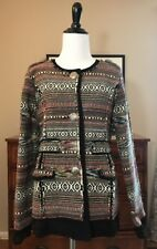 NWOT The Territory Ahead Women's Colorful Embroidered Jacket Navajo - Medium