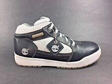Timberland™ ~ Black Leather / White Stitch Fashion Sneaker ~ Women Sz 6