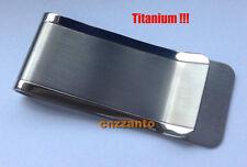Ti Titanium money clip Credit card paper clip holder Z019