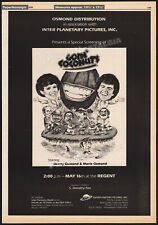 Goin' Coconuts_Orig. 1979 Trade print Ad promo / poster_Donny and Marie Osmond