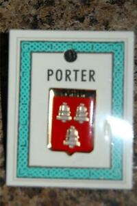 PORTER Family PIN LAPEL Coat of Arms - Heraldic Crest - Clip Badge - Brooch