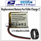 60mAh Replacement Battery for Fitbit Charge 2 Smart Fitness Watch LSSP411415