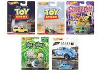 2020 Hot Wheels 1:64 Retro Entertainment Rick's Ship, Scooby Set of 5 DMC55-956S