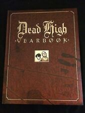 DEAD HIGH YEARBOOK Hardcover