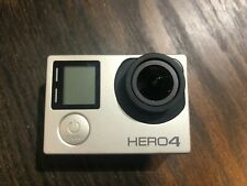GoPro Hero4 12Mp Action Camera - Silver + Housing and battery