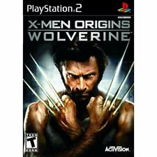 X-Men Origins: Wolverine For PlayStation 2 PS2 5E