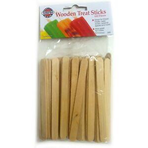 !!Norpro - Wooden Treat Sticks 100 Count # 193!!