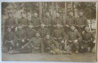 Sachsen, Soldaten IR 104, Fotokarte 1915 aus Chemnitz (22389)
