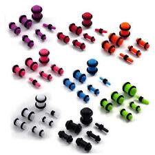 6pc Set 2mm - 8mm Stretcher Kit Expander Earring Taper Earplug Ear plug Piercing