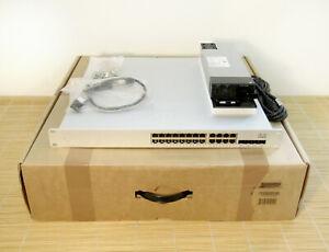 NEU Cisco Meraki MS350-24X-HW L3 Cloud Managed 24 Port PoE UNCLAIMED OPEN BOX