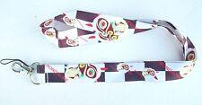 Princess Mononoke Shan White Color Fabric Lanyard Key Chain ~Kodama~