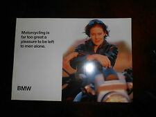 NOS BMW OEM Dealer Brochure1997 Far Too Great a Pleasure To Be Left To Men Alone
