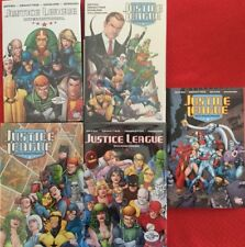Justice League International 4 HC and a trade