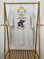VTG 80s East West Kung Fu Karate Short Sleeve Single Stitch T-Shirt Size XL USA