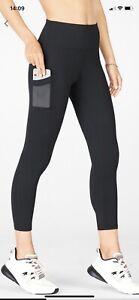 Fabletics Capri Leggings Black S