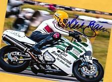Dieter BRAUN - 2x Motorrad WM - Rares AK Foto - signiert - signed + Gratis - AK