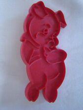 Cookie Cutter Cake Stencil Tupperware Pig Piglet Little Piggy Porky Vintage