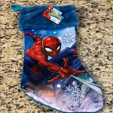Spider Man Christmas Stocking New