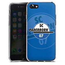 Apple iPhone 7 Silikon Hülle Case - SC Paderborn Branding