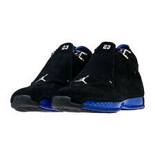 Jordan 18 Black Athletic Shoes for Men
