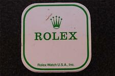 VINTAGE ROLEX PARTS TIN BOX DISPLAY CONTAINER