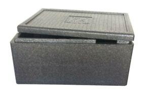Thermobox 60 x 40 x 19 cm 22 Liter Kühlbox Transportbox Pizzabox EPP