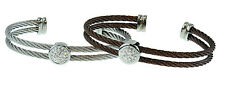 Stainless Steel 2 Set Cable Bracelet