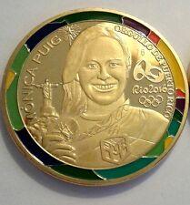 MONICA PUIG Medalla ORO TENNIS RIO JANEIRO Brazil 2016 Olympic Gold Puerto Rico