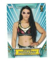 Deonna Purrazzo 2019 Topps WWE Women's Division 1ST NXT Rookie Card #36