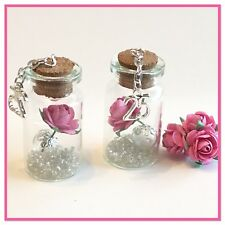 25th BIRTHDAY or 25th SILVER WEDDING ANNIVERSAY. A BEAUTIFUL MINI (4cm) BOTTLE