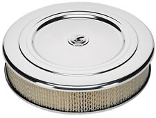 BILLET SPECIALTIES CLASSIC POLISHED ALUMINUM AIR CLEANER,LARGE ROUND,14""